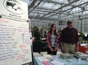 The Hurd Farm team at the Salem Market