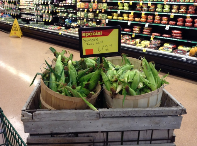 Local Corn at Shaw's in Milford