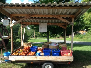 Pauly's Self-Serve Farm Stand at 43 Buckmeadow Rd. in Nashua.